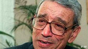 Portrait former UN Secretary General Boutros Boutros-Ghali