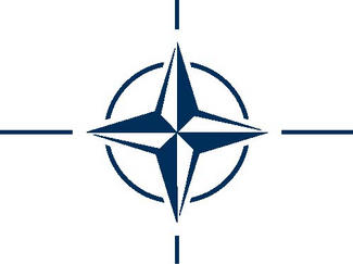 Logo der NATO, North Atlantic Treaty Organisation