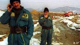 Arbeiter von der Goldmine Aurul in Baia Mare