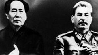 Mao Tse Tung und Stalin