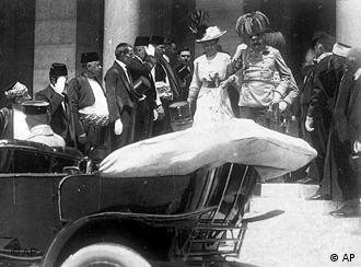 The assassination of Archduke Franz Ferdinand set events in motion