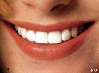 A smiling mouth