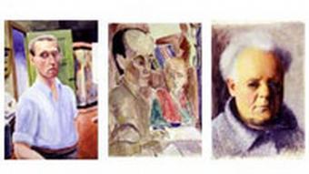 Selbstporträts verfolgter Künstler in McMullen-Museum Boston