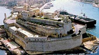 Festung in La Valletta Malta