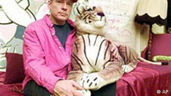 Rosa von Praunheim mit Tiger