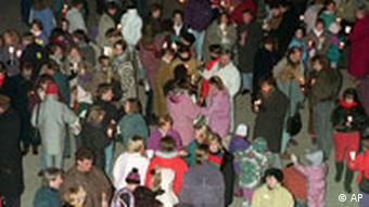 Protest gegen Ausländerfeindlichkeit