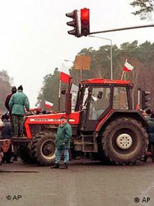 Bauerndemonstration in Polen