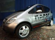 Авто, що працює на водні, Necar 5 від DaimlerChrysler