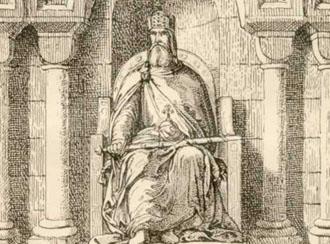 """""""CarloMagno"""" Rey de los Francos"""