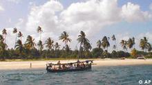 Ehemalige Kokosnuss-Plantage in Tansania jetzt Tourismusziel