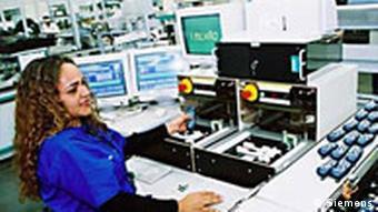 Handy Produktion von Siemens in Brasilien