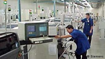 Siemens Handy Fabrik in Brasilien