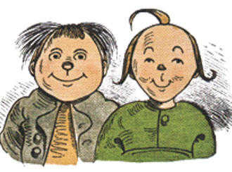 Max and Moritz are German cultural icons