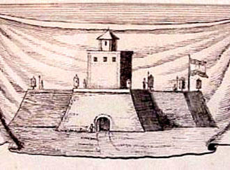 Fortaleza fundada por Jan van Riebeeck