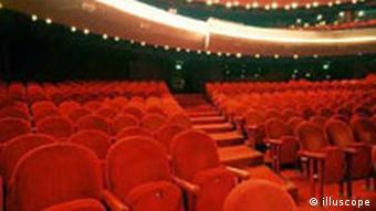 Sitzreihen im Kino