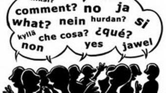 Kommunikation Communication Illustration Raimo Bergt EU-Osterweiterung Dossier