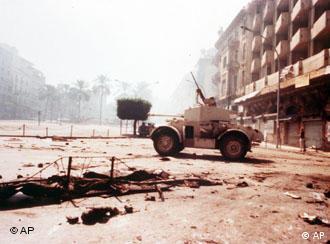 1975 eskalierte die Gewalt