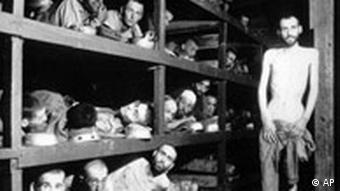 inmates of the Buchenwald concentration camp
