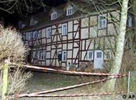 A casa em que ocorreu o crime