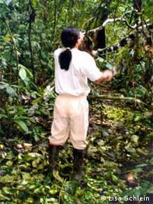Medizinischer Unterricht im Dschungel von Ecuador