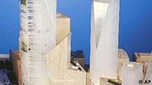 Architekturwettbewerb in New York, World Trade Center, von Libeskind