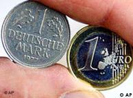 Para os alemães não foi fácil despedir-se do marco e aceitar o euro