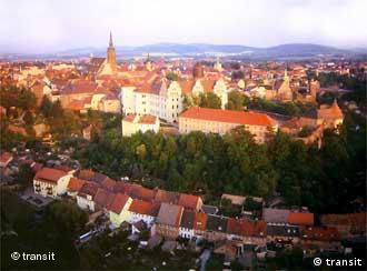 Sobre los tejados de Bautzen.
