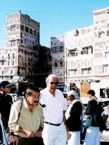 Günter Grass im Jemen
