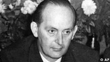 Professor Dr.Robert Havemann, DDR-Buergerrechtler. (AP-Photo) 28.2.1970