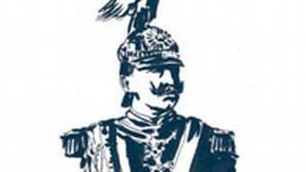 Der deutsche Kaiser, Wilhelm II. (Illustration Raimo Bergt)