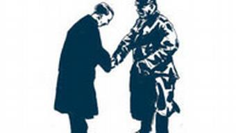 Deutsche Geschichte Kapitel 20 Die Weimarer Republik (1919 - 1933) Reichspräsident Hindenburg ernennt Adolf Hitler zum Reichskanzler Illustration Raimo Bergt