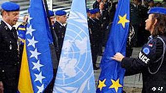 UN Friedenseinsatz in Bosnien beendet, EU übernimmt