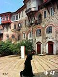 Silence and meditation are essential parts of the monastic life on the all-male peninsula of Mount Athos, Greece.