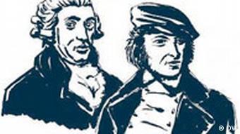 Joseph Haydn und Hoffmann von Fallersleben