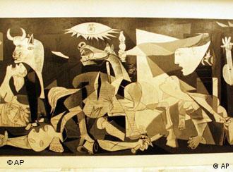 Detalhe de 'Guernica'