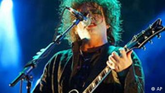Robert Smith von der Rockgruppe Cure