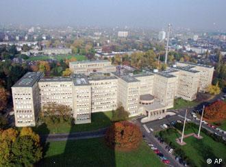 The former IG-Farben building in Frankfurt