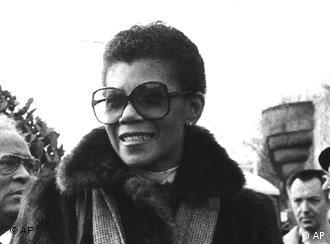 Wilma Rudolph em foto de 1984