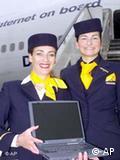 Стюардессы Lufthansa