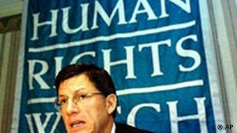 Human Rights Watch Jose Miguel Vivanco
