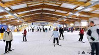 Die Skihalle in Bottrop Innen
