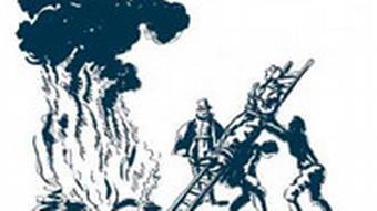 Сожжение ведьмы, старинная гравюра