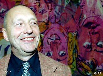 Pintor alemão Georg Baselitz faz 65 anos