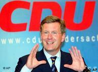 Christian Wulff, líder del partido alemán Unión Demócrata Cristiana (CDU).