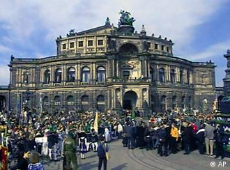 The Semper Opera House is a Dresden landmark and a venue for the festival