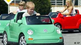 Kinder ohne Führerschein