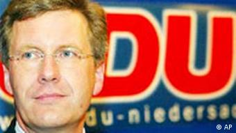Lower Saxony State Premiere Christian Wulff