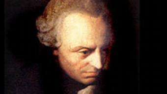 Иммануил Кант, немецкий философ