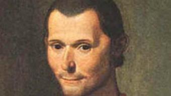 Макиавелли на портрете Санти ди Тито. Фрагмент