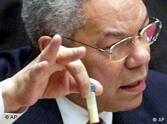 U.S. Secretary of State Powell at the Security Council in New York: Evidence enough?